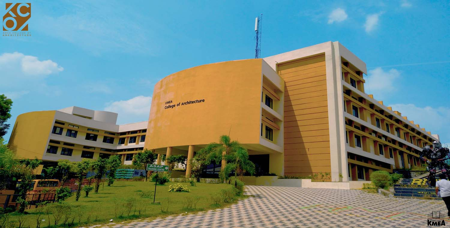 Kmea college of architecture for Architecture colleges
